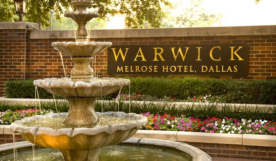 Warwick Fountain Dallas