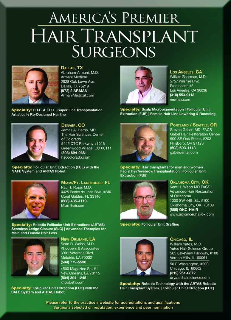 Dr. Abraham Armani Hair Loss Transplant Surgeon